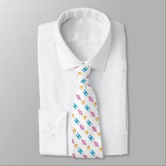 Necktie of electric sign