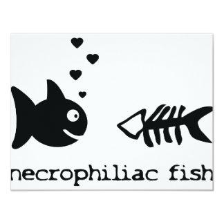 necrophiliac fish icon invitation