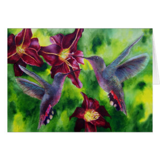 Nectar Collectors Greeting Card