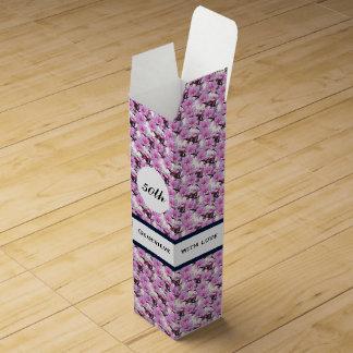 Nectarine Blossoms Wine Gift Box