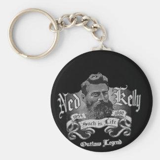Ned Kelly - An Australian Legend Keychain