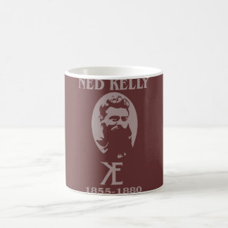 Ned Kelly Design Coffee Mug