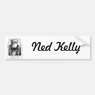Ned Kelly (Wanted Poster) Bumper Sticker