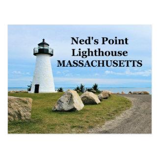 Ned's Point Lighthouse, Massachusetts Postcard