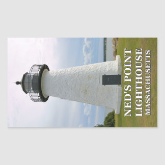 Ned's Point Lighthouse, Massachusetts Stickers