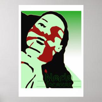 neda_zazzle_A1 Poster