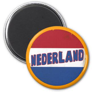 Nederland 2 Inch Round Magnet
