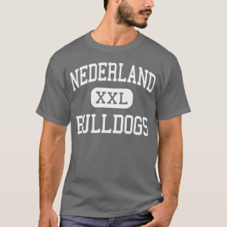 Nederland - Bulldogs - High - Nederland Texas T-Shirt