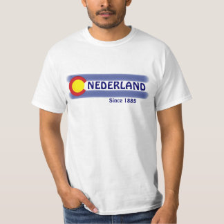 Nederland Colorado local flag value tee