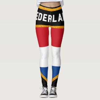Nederland Flag Leggings