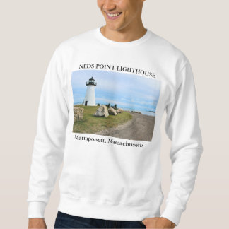 Neds Point Lighthouse, Mattapoisett Massachusetts Sweatshirt