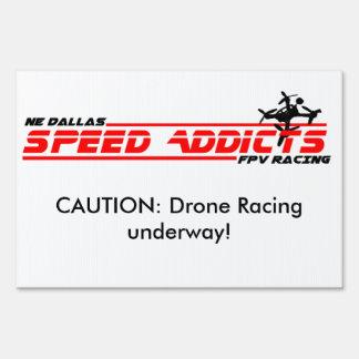 NEDSA - Drone Racing Sign
