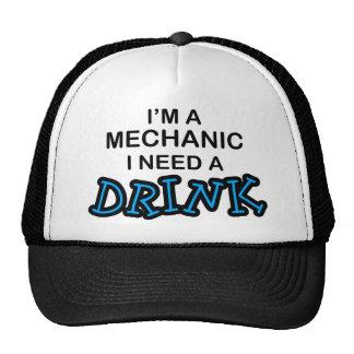 Need a Drink - Mechanic Mesh Hats