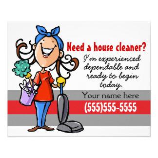 Housekeeping Promotional Flyers, Housekeeping Promotional ...