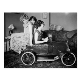 Need a Lift? 1920s Postcard