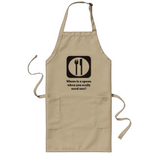 Need a spoon? long apron