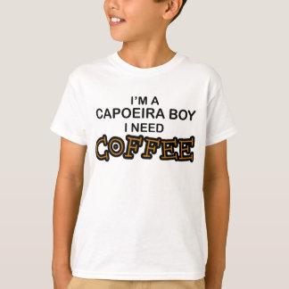 Need Coffee - Capoeira Boy Tee Shirt