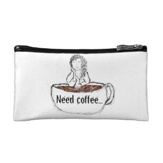 Need Coffee... Makeup Bag