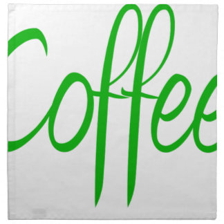 Need Coffee Napkin