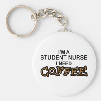 Need Coffee - Student Nurse Keychain
