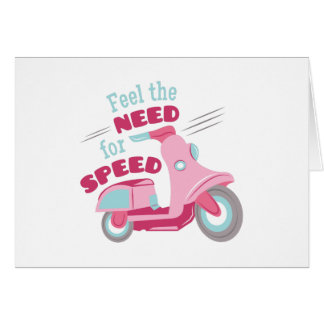 Need For Speed Card