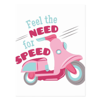 Need For Speed Postcard