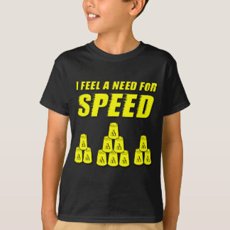 Need for Speed, yellow T-Shirt