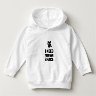 Need Meown Space Cat Hoodie