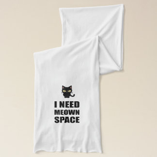 Need Meown Space Cat Scarf