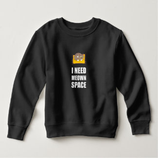 Need Meown Space Cat Sweatshirt