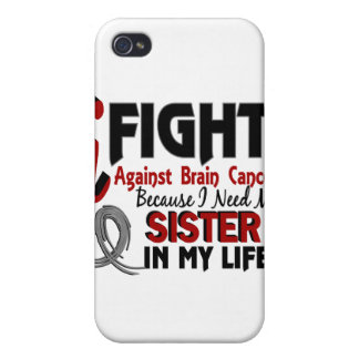 Need My Sister Brain Cancer iPhone 4/4S Cover