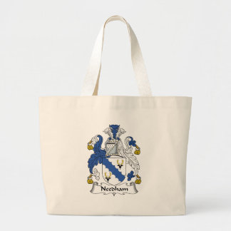 Needham Family Crest Jumbo Tote Bag