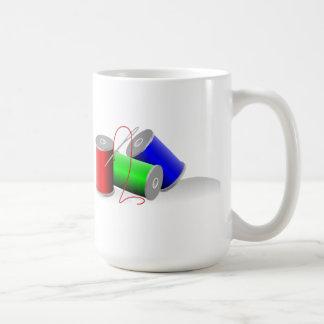 Needle and Thread Coffee Mug