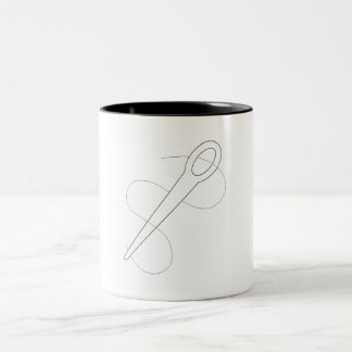 Needle And Thread Coffee Mugs