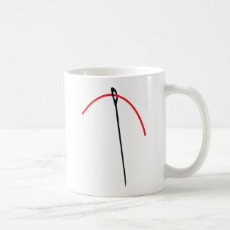 needle and thread mug