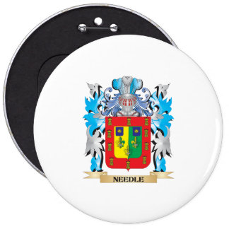 Needle Coat of Arms - Family Crest Pin