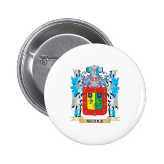 Needle Coat of Arms - Family Crest Pins