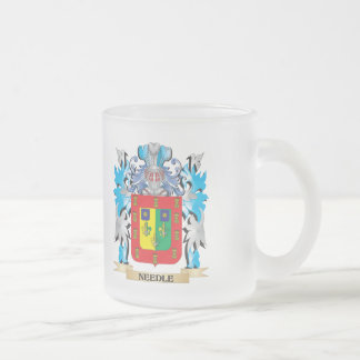 Needle Coat of Arms - Family Crest Coffee Mug