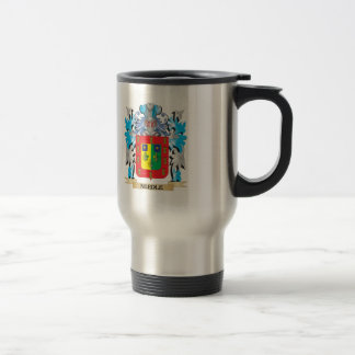 Needle Coat of Arms - Family Crest Coffee Mugs