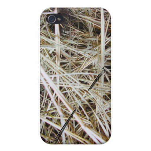 """needle in a haystack"" iPhone4 case iPhone 4/4S Cover"