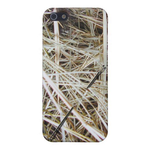 """needle in a haystack"" iPhone5 case iPhone 5 Cover"