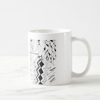 Needle Nose Classic White Coffee Mug