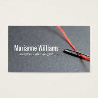 Needle & Thread Business Card
