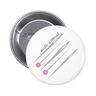 Needle & Thread Pinback Buttons
