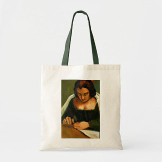 NEEDLE WORK TOTE: OLD MASTERS: PAINTING BUDGET TOTE BAG