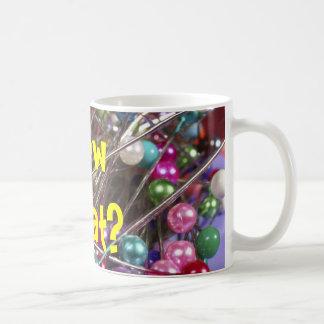 Needles and Pins Classic White Coffee Mug