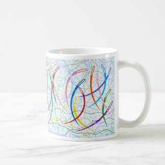 Needles Curved by Metin Basic White Mug