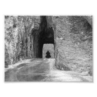 Needles Highway Tunnel Photo Art