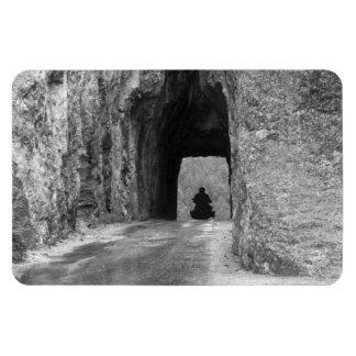 Needles Highway Tunnel Rectangular Photo Magnet