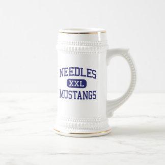 Needles - Mustangs - High - Needles California 18 Oz Beer Stein